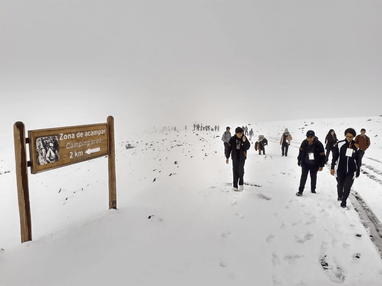 Gira de observación a la Reserva de Chimborazo