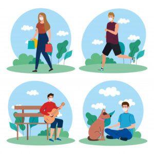 Actividades seguras al aire libre durante la pandemia de COVID-19
